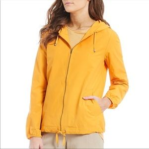 Eileen Fisher Yellow Jacket Organic Windbreaker M